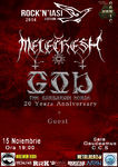 Concert Melechesh & God la Rock N Iasi