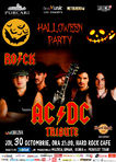 Halloween Party cu THE ROCK  Tribut AC/DC la Hard Rock Cafe pe 30 octombrie!