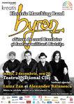 Concert byron la Teatrul National din Cluj Napoca