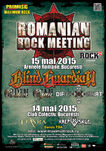 S-au pus in vanzare biletele la Romanian Rock Meeting 2015