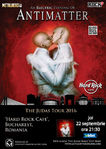 ANTIMATTER canta pe 22 septembrie la Hard Rock Cafe din Bucuresti