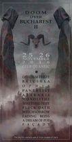 Editia a doua 'Doom over Bucharest' va avea loc in perioada 25-26 noiembrie