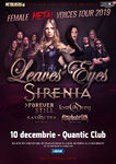 The Female Metal Voices Tour 2019 la Bucuresti pe 10 Decembrie