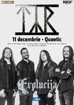 TYR in Quantic din Bucuresti pe 11 Decembrie