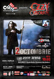 Concert Ozzy Osbourne in Romania la Zone Arena