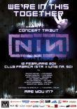 Afis Nine Inch Nails: Live tribute in februarie la Club Fabrica din Bucuresti