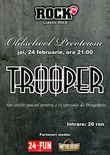 Concert Trooper in Old School din Bucuresti