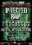 Concert Infected Rain si Psychogod in club Zodiar din Galati