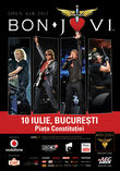 Concert Bon Jovi la Bucuresti in Piata Constitutiei