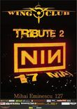 Afis Concert tribut Nine Inch Nails in Club Wings
