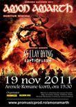 Concert Amon Amarth si As I Lay Dying la Bucuresti