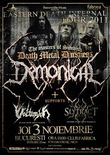 Concert Demonical, Volturyon si Slytract in Fabrica