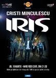 Concert Cristi Minculescu si IRIS pe 16 martie la Hard Rock Cafe