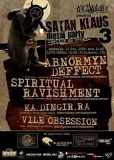 Satan Klaus Party in Live Metal Club - Anulat !