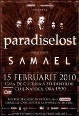 ANULAT - Paradise Lost la Cluj-Napoca pe 15 februarie 2010