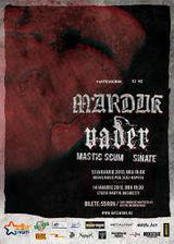 Concert Marduk si Vader la Bucuresti in Studio Martin