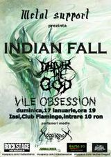 Indian Fall si Deliver The God concerteaza la Iasi