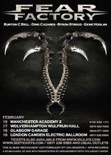 Fear Factory anunta un nou turneu european