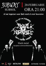 Akral Necrosis in concert la Bacau