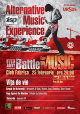 Alternative Music Experience - Battle for Music cu Vita De Vie