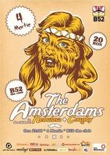 The Amsterdams, Nebulosa si Coughy in concert in B52