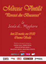 Concert Mircea Vintila la Cinema Scala