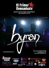 Concert Byron in El Primer Comandante