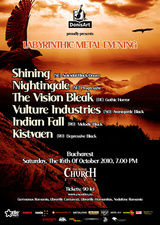 Spot video pentru Labyrinthic Metal Evening in Silver Church