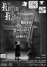 Concert Koffin Kats in Irish & Music Pub din Cluj Napoca