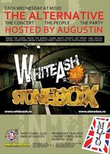 Concert White Ash si Stonebox in Club Mojo din Bucuresti