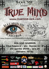 Concert True Mind, Illusion Of Control si Whispering Woods la Cluj