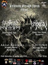 Concert Setherial si Impiety in Bucuresti