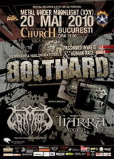 Concert Bolthard, Grimegod si Tiarra in The Silver Church Club