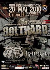 Concert Bolthard, Grimegod si Tiarra in The Silver Church Club