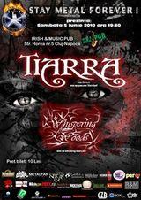 Concert Tiarra si Whispering Woods in Irish & Music Pub din Cluj
