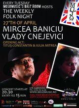 Concert Mircea Baniciu in club Mojo