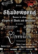 Concert lansare de album Shadowsong in Suceava
