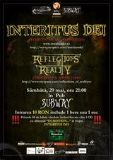 Concert Interitus Dei in Club Subway din Bacau