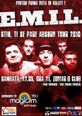 Concert E.M.I.L. in Club Zod!ar din Galati