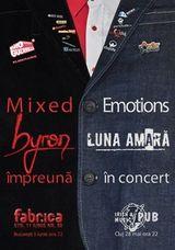 Concert Byron si Luna Amara in Bucuresti