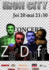 Concert Za'Duff in Iron City din Bucuresti