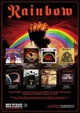 Back On Black lanseaza discografia Rainbow pe vinil
