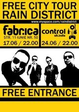 Concert Rain District in Club Fabrica din Bucuresti