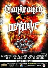 Concert Confronto si Deathdrive in Club Control