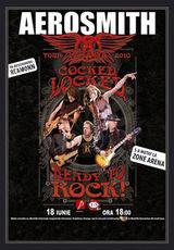 Concert Aerosmith in Romania la Bucuresti la Romexpo