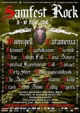 Concert Moonspell si Catamenia la Samfest 2010