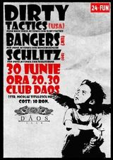 Concert Dirty Tactics in Timisoara