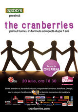 Concert The Cranberries in Romania