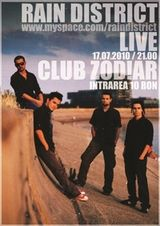 Concert Rain District in Club Zodiar din Galati