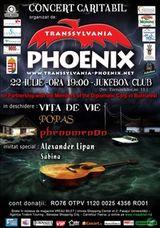 Concert caritabil Phoenix in Club Jukebox Bucuresti